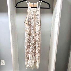 Lush White Lace Dress